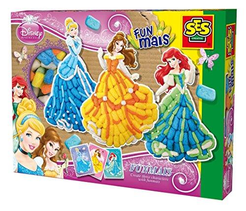 "SES Creative 24991 - Gioco ""Componi le principesse con il Funmais"", materiale ecologico, serie ""Principesse Disney"""