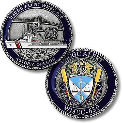 USCGC Alert (WMEC-630) Challenge Coin