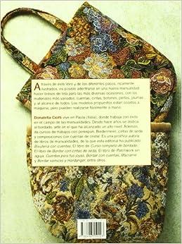 Tela/ Making Cloth Bags: Con Cuentas, Cintas, Botones, Perlas, Plumas