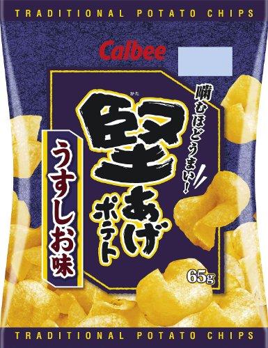 カルビー 堅あげポテトうすしお味 65g×12袋