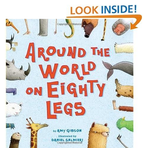 Around the World on Eighty Legs: Animal Poems