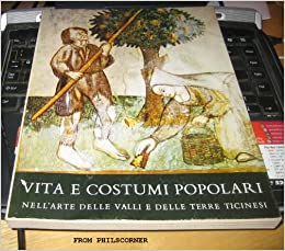 VITA E COSTUMI POPOLARI: VIRGILIO GILARDONI: Amazon.com: Books