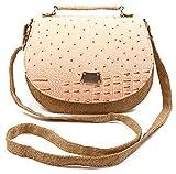 Chalissa Women's Peach Sling Bag (Rexine Jeans)