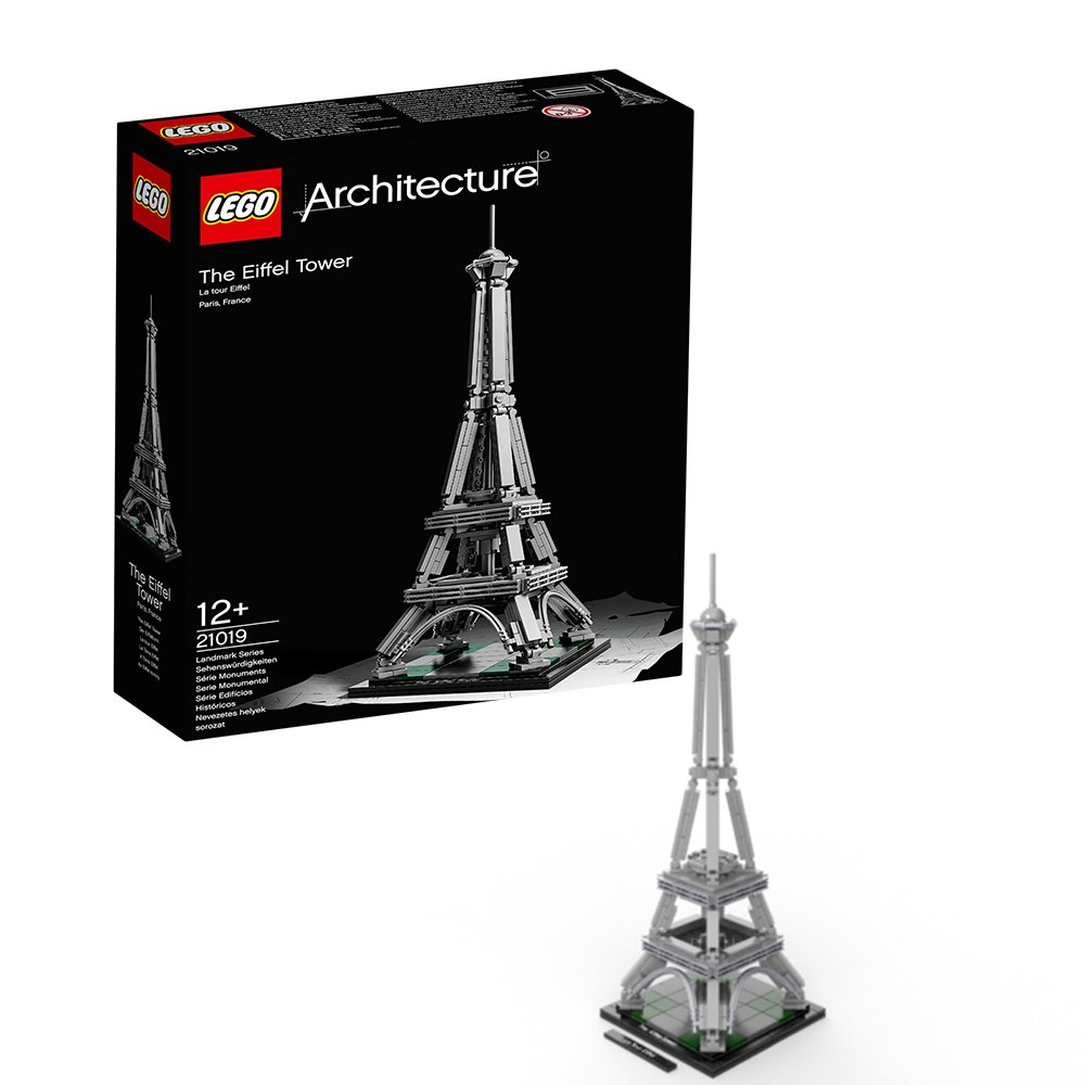 lego architecture 21019 the eiffel tower ebay. Black Bedroom Furniture Sets. Home Design Ideas