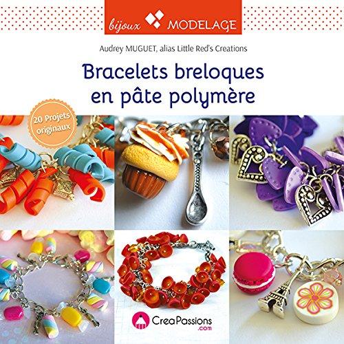 Bracelets breloques en pâte polymère, Audrey Muguet