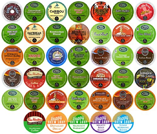 40-count TOP BRAND COFFEE K-Cup Variety Sampler