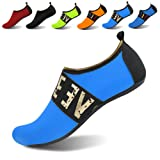 JOINFREE Women's Water Shoes Men's Swim Footwear Kid Summer Water Shoes Barefoot Shoe Quick Dry Aqua Socks Yoga