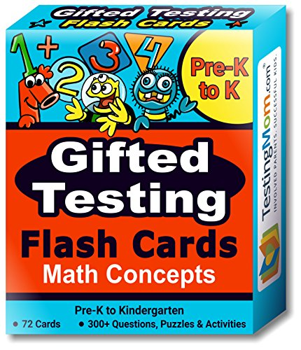 Gifted Testing Flash Cards
