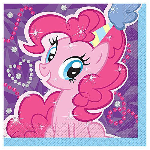 Unique My Little Pony Party Napkins (16 Count)
