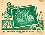 Island of Lost Souls H.G. Wells Original Lobby Card