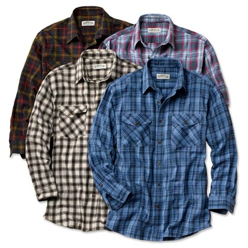 Our Favorite Brushed-Flannel Shirt
