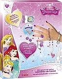 Lansay - 25111, calendario de Adviento con sorpresas para componer un conjunto de joyas de las princesas de Disney