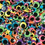 Paste-On Wiggle Eyes Assorted 7Mm To...