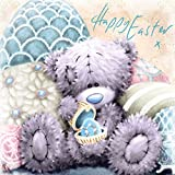 Me to You Happy Easter Card X Bear And Eggs - Tatty Teddy