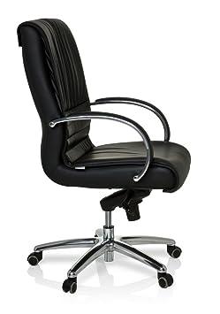hjh office 600954 b rostuhl chefsessel xxl f 200 leder schwarz dc945. Black Bedroom Furniture Sets. Home Design Ideas
