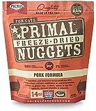 Primal FPKFD14 Pet Foods Freeze-Dried Feline Pork Formula, 14 oz.
