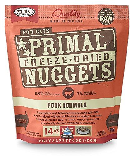 Primal FPKFD14 Pet Foods Freeze-Dried Feline Pork Formula, 14 oz. (Freeze Dried Pet Food compare prices)