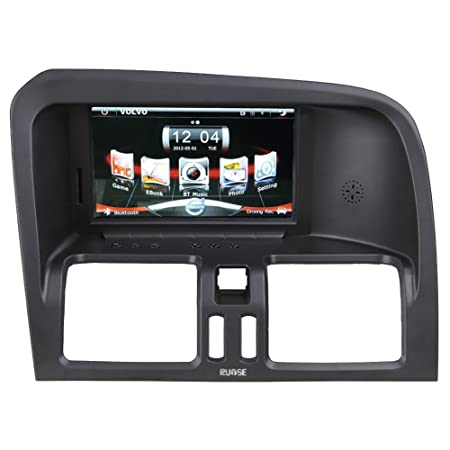 Rupse - autoradio DVD pour 2008 2009 2010 2011 Volvo XC60 - 7'' HD moniteur écran tactile 800 * 480 et GPS Bluetooth USB - supporte RMVB RM, MP4, ASF, AVI - vous pouvez garder le CD/Radio original