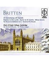 Britten:a Ceremony of Carols