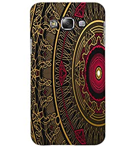 SAMSUNG GALAXY GRAND 3 ART Back Cover by PRINTSWAG