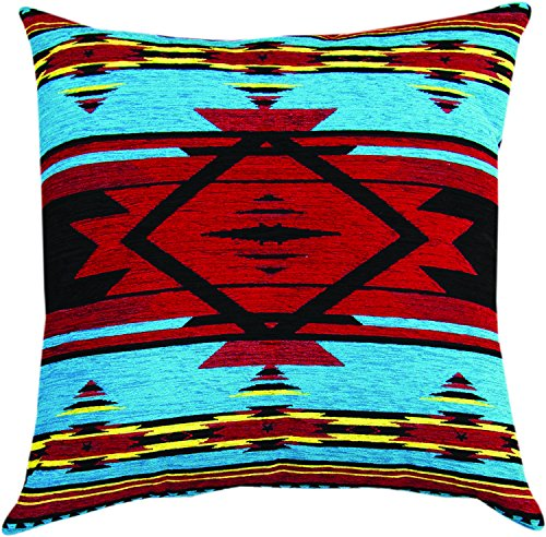 """MWW Manual Tapestry Throw Pillow, Flame Bright, 20"""""""