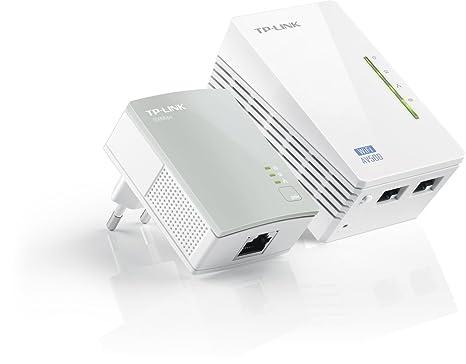 TP-LINK TL-WPA4220KIT AV500 WiFi 300Mbps un Pack de 2 Adaptateurs CPL (2 Ports Ethernet)