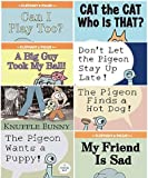 img - for Mo Willems Set of 8 Paperback Books Includes Can I Play Too?, a Big Guy Took My Ball, Cat the Cat Who Is That?, Knuffle Bunny, the Pigeon Finds a Hot Dog!, Don't Let Pigeon the Stay up Late!, the Pigeon Wants a Puppy!, & My Friend Is Sad book / textbook / text book