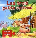 echange, troc Collectif - Les trois petits cochons : Livre puzzle