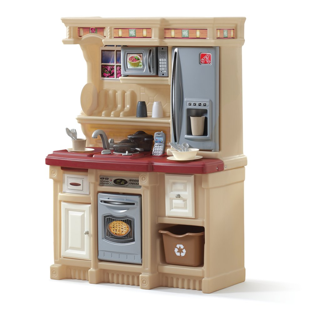Play kitchen sets home design and decor reviews for Kitchen set red