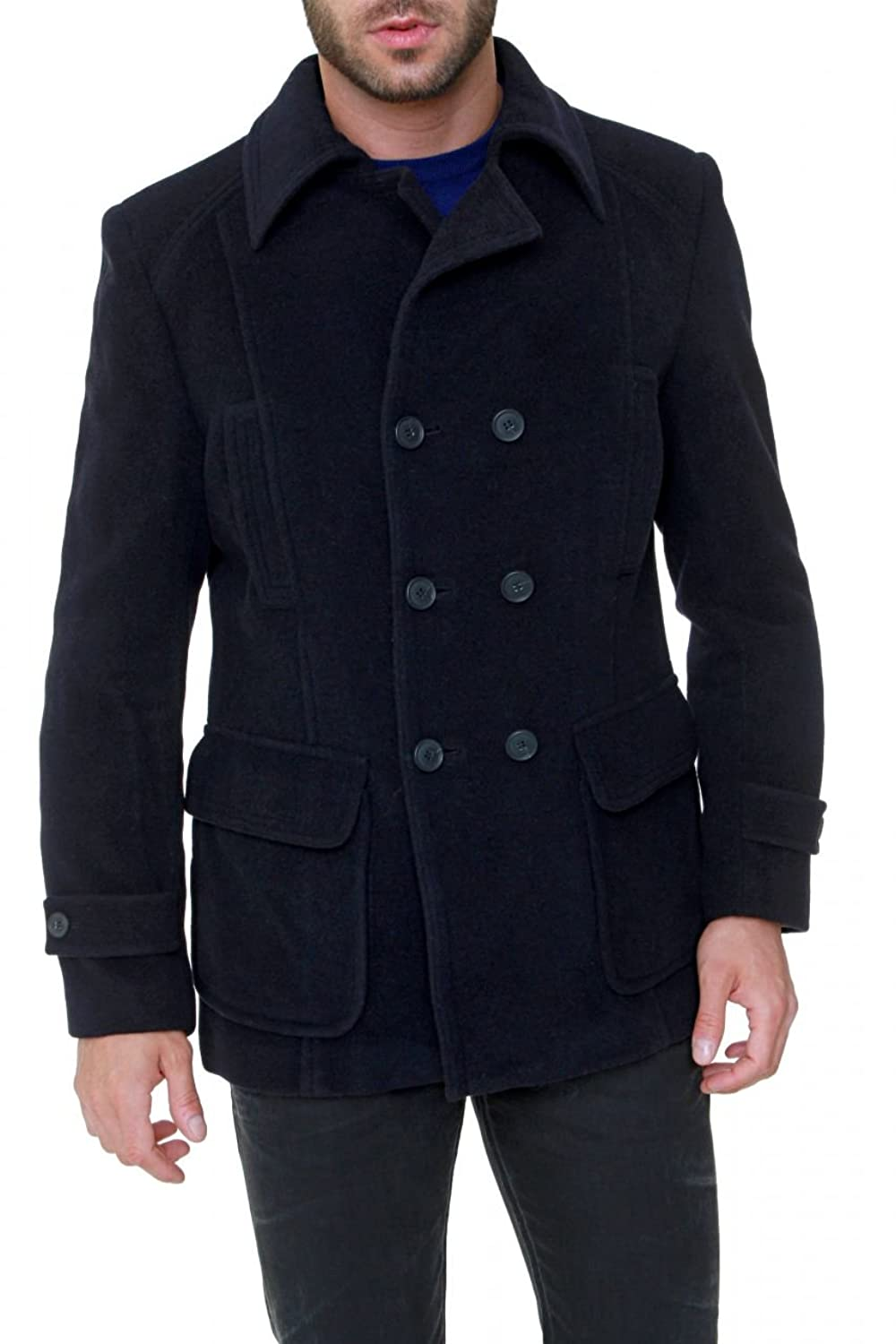 Stefanel Short Coat ROBERTO, Color: Dark blue stefanel stefanel uu016d 69515 3870