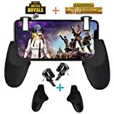 Fortnite PUBG Mobile Controller - SVZIOOG Mobile Game Controller(1Pair+1Gamepad),Cellphone Game Trigger Mobile Gaming Joysticks Android iOS (Fortnite PUBG Mobile Controller3) (Color: Fortnite PUBG Mobile Controller3)