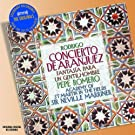 Rodrigo : Concierto de Aranjez (Concerto d'Aranjuez) ; Fantasia para un Gentilhombre