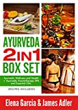 img - for Ayurveda: AYURVEDA 2 IN 1 BOX SET: Ayurvedic Wellness and Health + Ayurvedic Aromatherapy SPA and Essential Oils. Recipes Included! (Ayurveda, Ayurvedic Medicine, Ayurvedic Recipes Book 3) book / textbook / text book