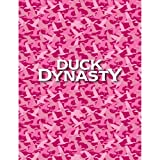 DUCK DYNASTY PINK CAMO FLEECE PLUSH THRO...