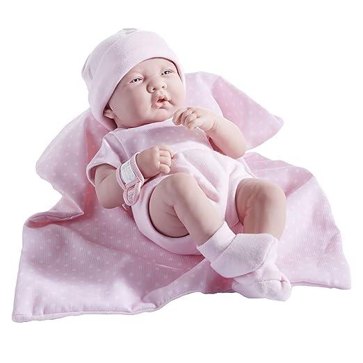 La Newborn - 36 cm - Bébé en vinyle / une vraie fille