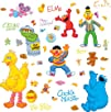 RoomMates RMK1384SCS Sesame Street Peel   Stick Wall Decals