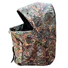 Leader Accessories Camouflage One Man Hunting Game Chair Blind