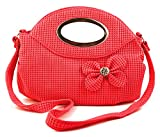 Chalissa Women's Red Bow Tie Sling Bag