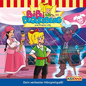 Bibi Blocksberg und Piraten-Lilly (Bibi Blocksberg 101) Hörspiel