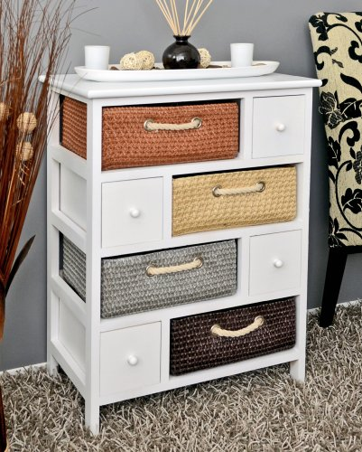 rustic-house-chest-74-cm-nursery-cabinet-bathroom-shelf-white-with-four-baskets-and-four-drawers