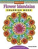 Flower Mandalas Coloring Book (Coloring Activity Book)