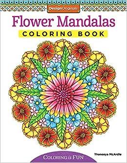 Amazon Flower Mandalas Coloring Book Coloring Is Fun