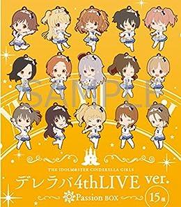 アイドルマスター シンデレラガールズ トレーディングラバーストラップ デレラバ4thLive ver PassionBOX ( 15種入り )