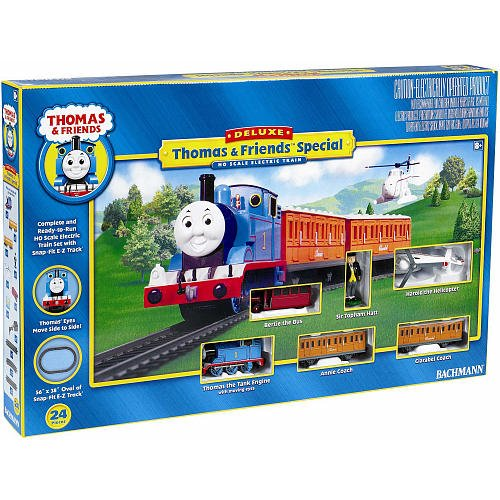 Bachmann Deluxe Special Edition Electric Train Set Thomas The Tank
