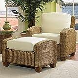 Home Styles 5401-100 Cabana Banana Chair and Ottoman, Honey Finish