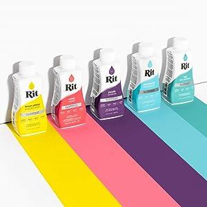 Rit Dye Liquid Fabric Dye, 8-Ounce,  Scarlet