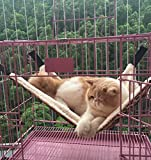 Cat Hammock Ferret Hammock Rat Hammock Pet Hammock - Also for Rabbit, Small Dogs - Pet Cage Hammock Bed - 3 Designs (Lynx)