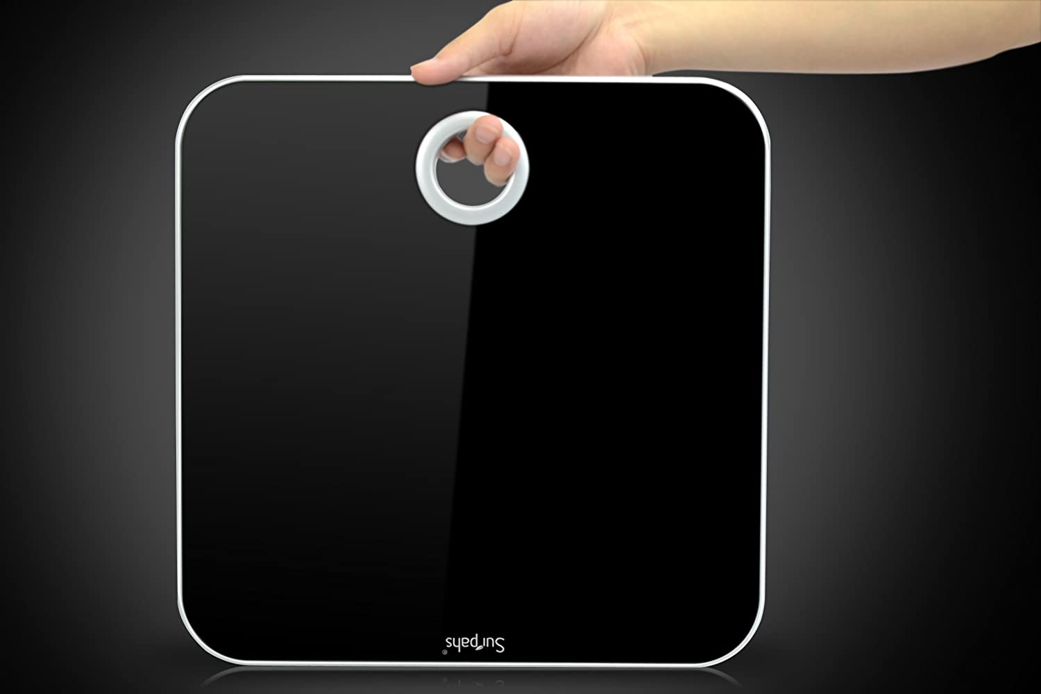 Surpahs M1 Magic-Mirror Brite LED Glass Digital Bathroom Scale