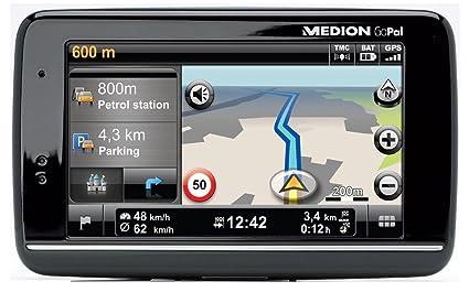 """Medion GoPal E4245 WE + GPS Europe de l'ouest Ecran tactile 4,3"""" 22 pays Mémoire intégré 2 Go"""