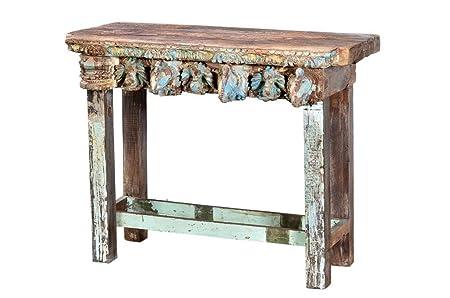 De la India romántico de la mesa de alta borad DE antiguos de la ventana